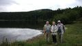au lac Servières