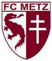 Blason du FC Metz avec la crois de Lorraine et ... le graoully !