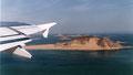 Décollage d'Abou Simbel, le lac Nasser