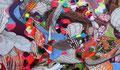 Frank Stella (né en 1936) : Polombe