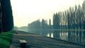 Diapositive. Canal du Parc de Sceau (1968)