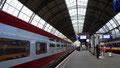 Thalys en gare d'Amsterdam