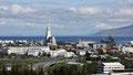 Reykjavik vue du réservoir