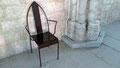 Chaise gothique