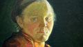 """Halfdan Egedius : """"Portrait de Marie Clasen"""" 1895"""