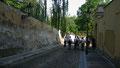 Descente vers le palais et jardin Wallenstein