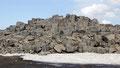 Champ de lave au bord de la Detifoss