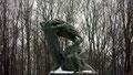 Statue de Chopin dans le Parc Lazienski
