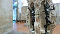 Benvenuto Cellini, piédestal original du Persée dont l'original de trouve à la Loggia dei Lanzi