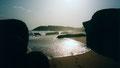 Coucher de soleil sur le golfe de Guinée à Sassandra