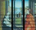 Tag 17   nach Rogier van der Weyden DER HEILIGE LUKAS ZEICHNET DIE MADONNA 1440