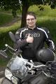 17.5.18 André überglücklich. Viel Spaß beim Motorrad fahren. ;)