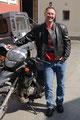 25.04.2013 Gernot... viel Spaß beim Motorrad fahren!!!