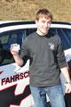 20.3.2012 ... auch Julian wird für seine heldenhafte Leistung mit dem Führerschein belohnt...
