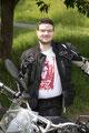 17.5.18 Felix überglücklich. Viel Spaß beim Motorrad fahren. ;)