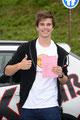 10.10.2013 ... der Felix fährt wie eine Eins, drum ist der Führerschein jetzt sein's ;)