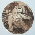2 - La dame aux gants noirs (gravure)