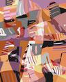 OHNE TITEL   2003   -   Acrylfarbe auf LW   -   1,6m x 1,3m