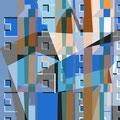 ORANGE   2003   -   Acrylfarbe auf LW   -   1,3m x 1,3m