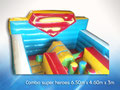 SUPER HEROES  JUEGO INFLABLE