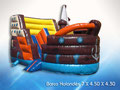 BARCO HOLANDES 6.50 X 4.50 X 4.10 JUEGO INFLABLE