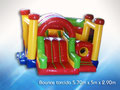 BOUNCE TORCIDO 5.70 X 5.10 X 2.90 JUEGO INFLABLE