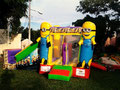 MINIOMS INFLABLE 5 X 3 , CON IMPRESION DIGITAL