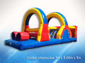 COMBO OBSTACULOS 7.50 X 3.70 X 3 JUEGO INFLABLE