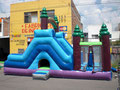 ICE BLUE 7.30 X 4.50 X 3 JUEGO INFLABLE