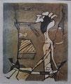 Vernetzung 2006, Lithografie 06, 27x33 cm