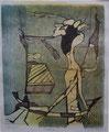 Vernetzung 2006, Lithografie 04, 27x33 cm