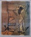 Vernetzung 2006, Lithografie 08, 27x33 cm