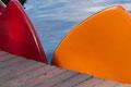 Favorit, aber Bildausschnitt vergrößern, so dass das rote Boot erkennbar ist