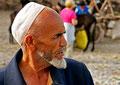 Uigurische Viehhändler