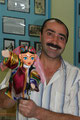 Usbekischer Puppenmacher in Buchara