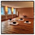 Der Yogaraum von Marici Yoga an der Staffelstrasse 8 in Zürich, in dem auch die Meditationskurse stattfinden.