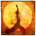 Der Sonnengruss ist die wohl bekannteste Flusssequenz des Yoga. Fotografie: Elena Ray