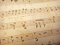 """Романс """"Я слышу знакомые звуки..."""", старинная рукопись, 1845"""