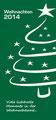 Weihnachtskarte Vorderseite von blickpunkte design für staunraum