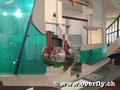 Deutsches Museum: Modell Kaplanturbine bei Flusskraftwerk