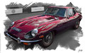 Jaguar E-Type 1965, based on a photo by Brian Snelson who licensed it CC BY 2.0