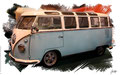 VW T1 Bulli, Samba, 1958, based on a photo by Brian Snelson who licensed it CC BY 2.0
