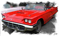 Ford Thunderbird 1959, based on a photo by Greg Gjerdingen who licensed it CC BY 2.0