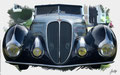 Delahaye Typ 135M, Figoni&Falaschi, 1937, based on a photo by Edvvc who licensed it CC BY 2.0