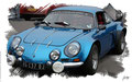 Renault Alpine A110, based on a photo by Brian Snelson who licensed it CC BY 2.0