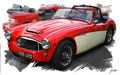 Austin Healey 3000 1959, based on a photo by SimonQ who licensed it CC BY 2.0