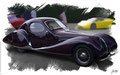Talbot-Lago T150-C SS 'Goutte d'Eau' 1937 , based on a photo by edvvc who licensed it CC BY 2.0