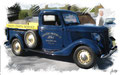 Ford Pickup 1930, based on a photo by John Lloyd who licensed it CC BY 2.0