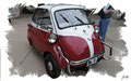 BMW Isetta 300, 1959, based on a photo by Greg Gjerdingen who licensed it CC BY 2.0