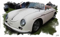 Porsche 356A Cabriolet 1956, based on a photo by Sicnag who licensed it CC BY 2.0